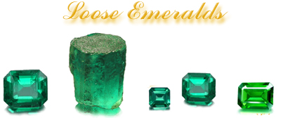 Loose Emeralds at The Ross Jewelry Company