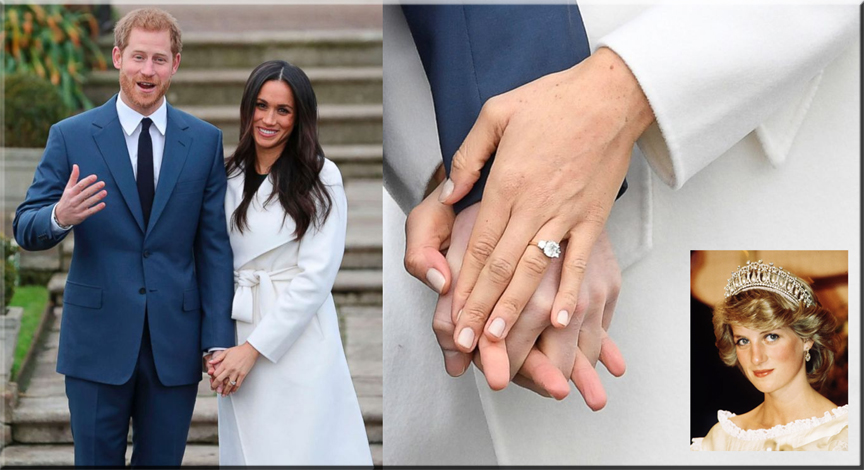 Prince Harry / Meghan Markle Cushion Cut Diamond Engagement Ring