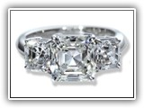 Click to enlarge this Custom Ring Design - Asscher3