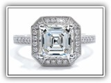 Click to enlarge this Custom Ring Design - Asscher4